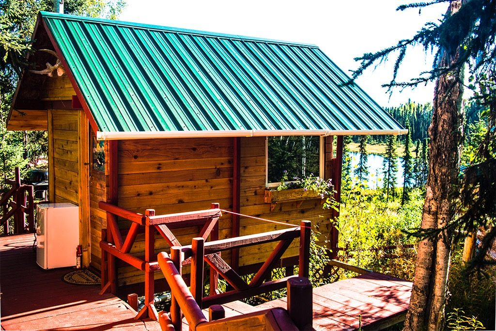 The Hideout Cabin!